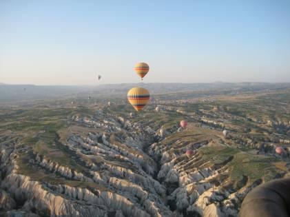 Ballooning in Cappadocia, Turkey 2010