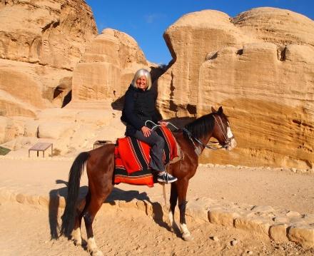 me in Petra, Jordan 2011