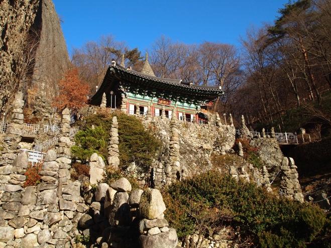 Tap-sa, Maisan Provincial Park, South Korea December 2010