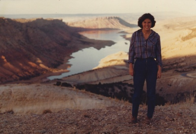 me at Flaming Gorge National Recreation Area 10/7/79