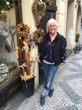 me in Prague, Czech Republic, October 2017