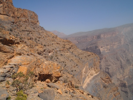 Jebel Shams, Oman