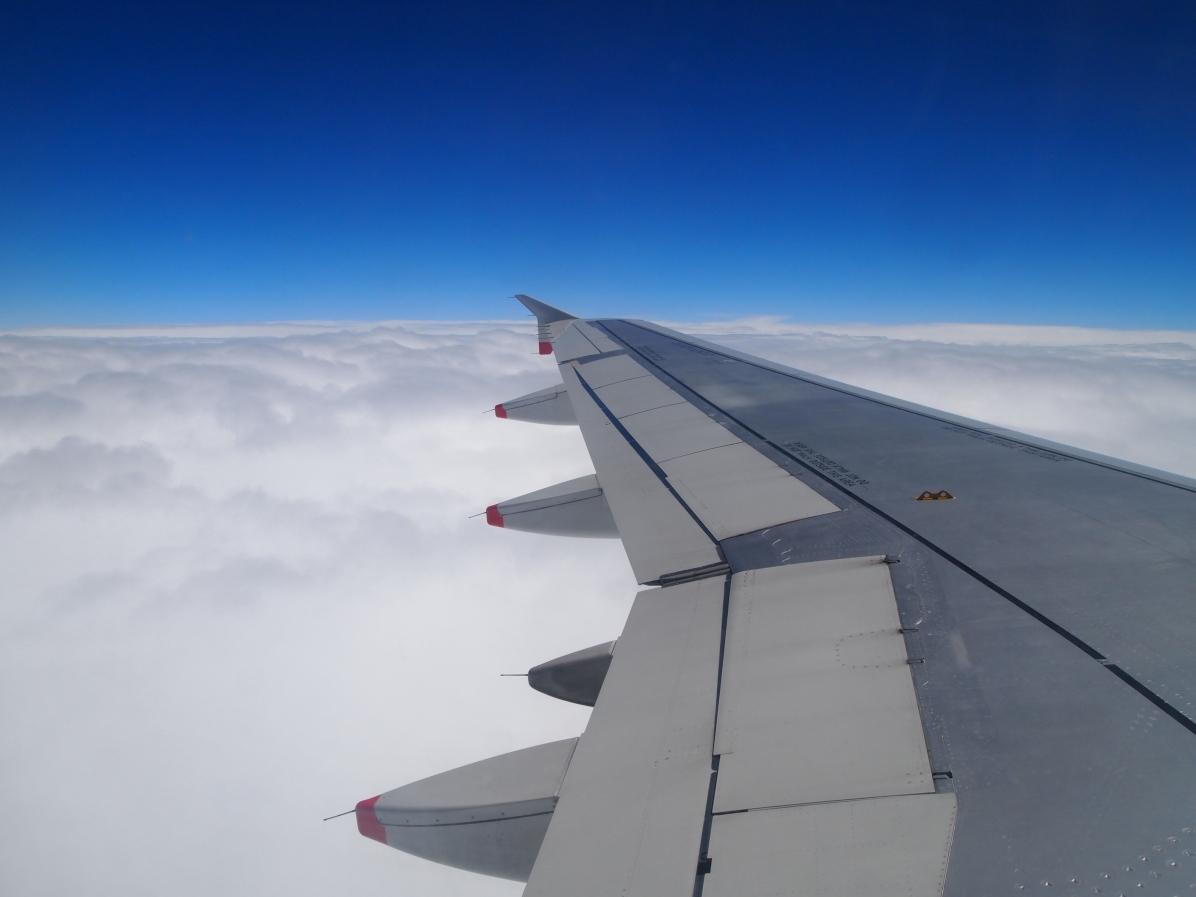 En route from London to Barcelona June 2013