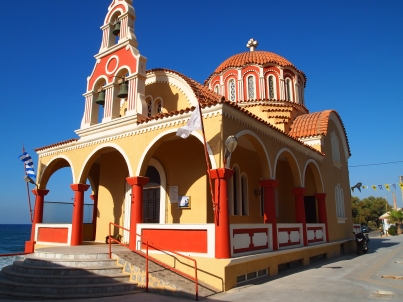 church in Crete, Greece
