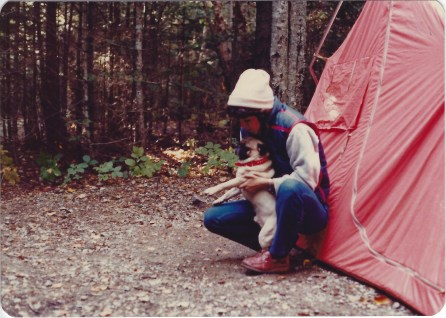 camping in Maine 9/19/79