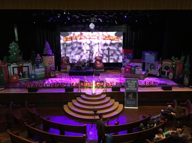Stage in the Ryman