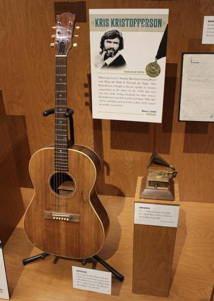 Kris Kristopherson's guitar
