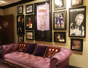 Star dressing rooms at the Grand Ole Opry