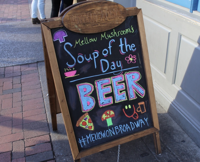 Soup of the day: Beer