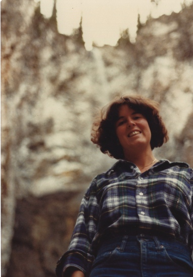 me at Fairy Falls, Yellowstone 10/9/79