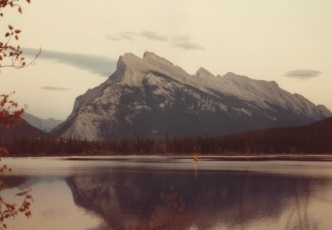 Banff Crag, Canada 10/14/79