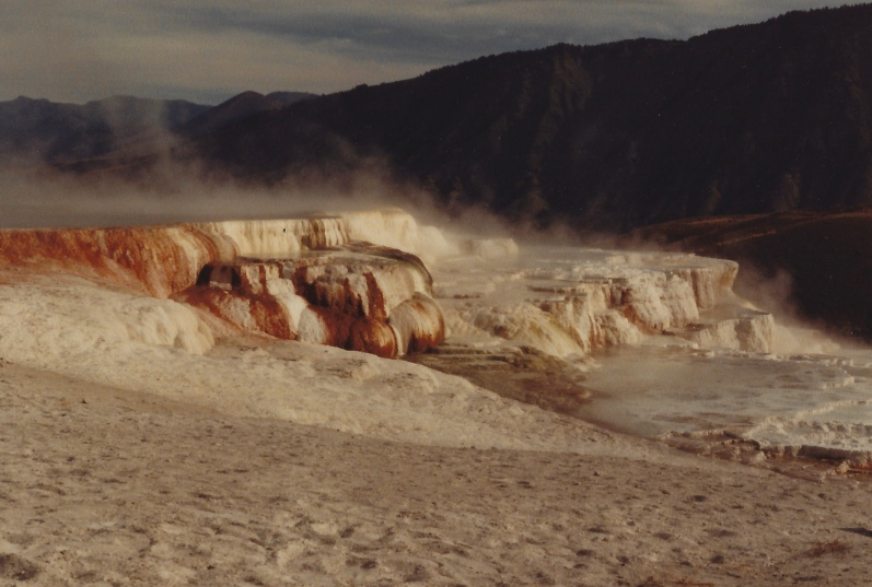 Mammoth Hot Springs, 10/10/79