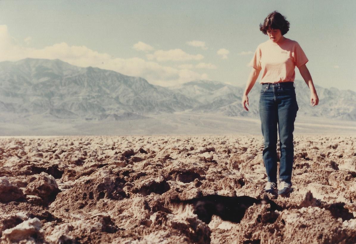 Devil's Golf Course, Death Valley 11/8/79
