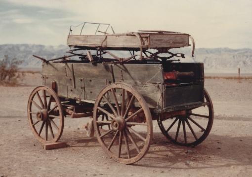Pioneer wagon, Death Valley 11/7/79