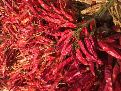 Chili peppers at Great Market Hall