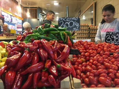 chili peppers in Budapest