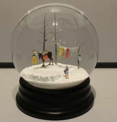 """Snowbound"" snow globe"