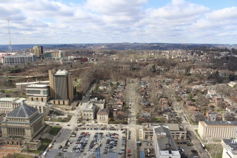 view from Cathedral of Learning
