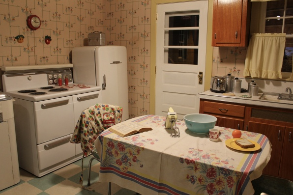 kitchen from 50s and 60s