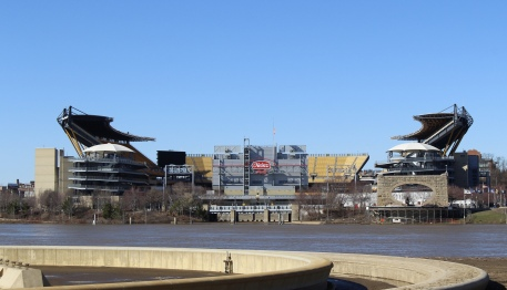 Heinz Field viewed from Point State Park