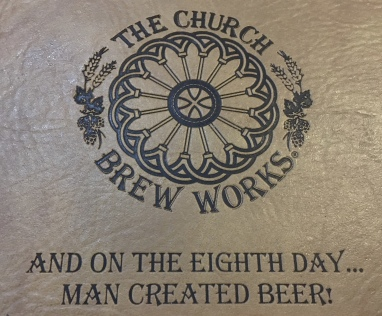 And on the eighth day, man created beer!