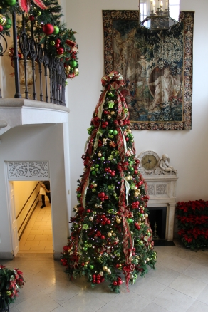 Christmas tree at Cheekwood
