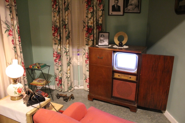 living room from 50s and 60s