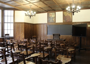 Yugoslav Room at Cathedral of Learning
