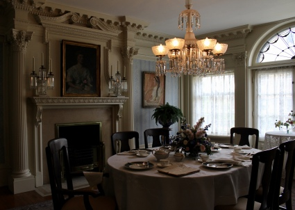 the dining room where Roosevelt ate before being sworn in