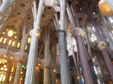 inside Sagrada de Familia