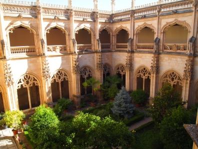 cloister at San Juan de los Reyes