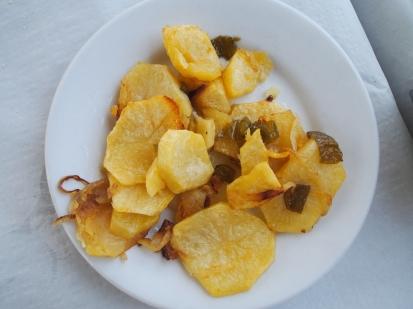 potatoes in Malaga