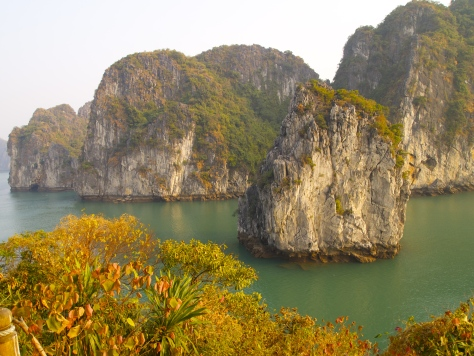 Karsts in Halong Bay