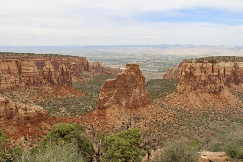 mesa of Colorado National Monument