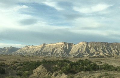 Buttes in Grand Valley