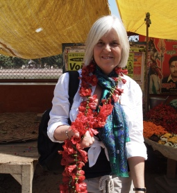 me in Varanasi