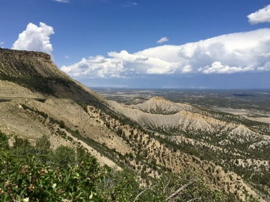 Mancos Valley Overlook at Mesa Verde