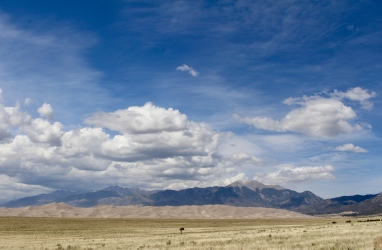 Great Sand Dunes National Park and the Sangre de Cristo Mountains
