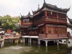 teahouse in Yu Yuan Garden in Shanghai