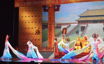 Acrobatic & Dance show in Xian