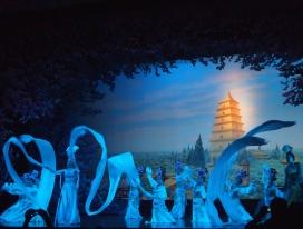 Acrobatic & Dance show in Xian