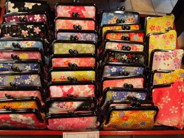 colorful change purses