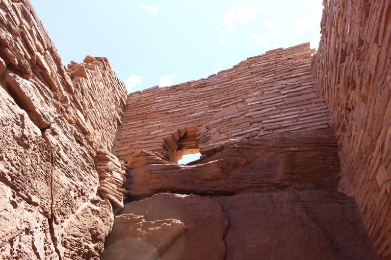 masonry at Wupatki Pueblo