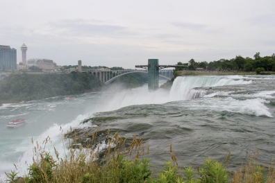 View of American Falls from Luna Island