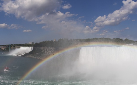 Rainbow over Horseshoe Falls