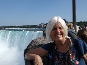 me at Horseshoe Falls