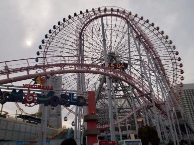 Ferris Wheel at Yokohama Cosmo World Amusement Park