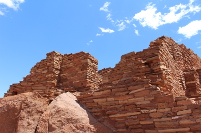 masonry at Wupatki Pueblo