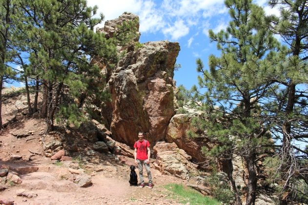Freya and Alex at Mt. Sanitas