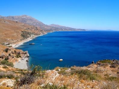 beach in Crete